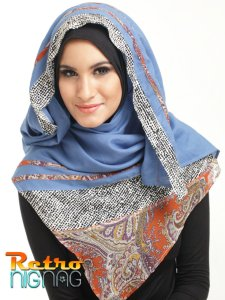 Hijab jilbab nignag  J-0313010