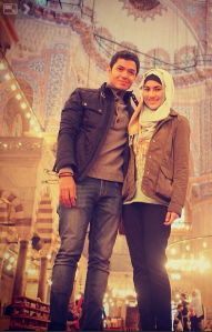 Alyssa Soebandono memakai hijab setelah menikah 4