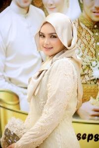 Hijab  Cantik ala Siti Nurhaliza 1