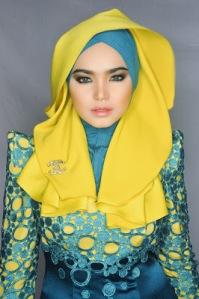 Hijab  Cantik ala Siti Nurhaliza 2